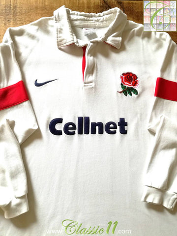 1997/98 England Home Rugby Shirt (S)