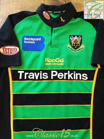 2006/07 Northampton Saints Home Rugby Shirt (M)