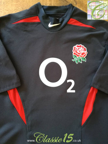 2003/04 England Away Pro-Fit Rugby Shirt (XL)