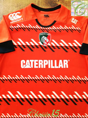 2014/15 Leicester Tigers Away Pro-Fit Rugby Shirt (M)