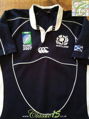2007 Scotland Home World Cup Rugby Shirt (M)
