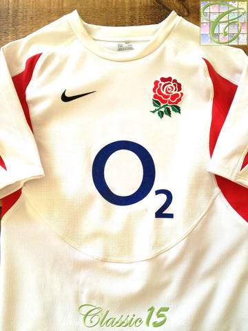2005/06 England Home Player Specification Rugby Shirt (M)