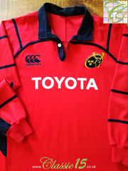 2005/06 Munster Home Rugby Shirt. (XXXL)