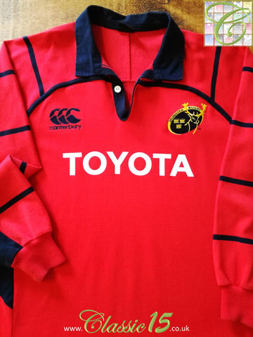 2005/06 Munster Home Rugby Shirt. (M)