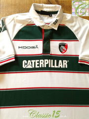2015/16 Leicester Tigers Home Rugby Shirt (XL)