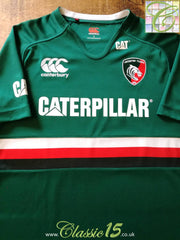 2013/14 Leicester Tigers Home Pro-Fit Rugby Shirt (L)