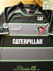 2015/16 Leicester Tigers Away Pro-Fit Rugby Shirt (S)