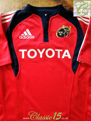2007/08 Munster Home Rugby Shirt (XXL)