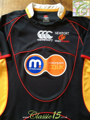 2008/09 Newport Gwent Dragons Home Rugby Shirt (L) *BNWT*