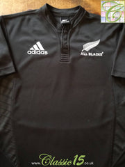 2007/08 New Zealand Home Rugby Shirt (B)