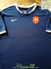 2009/10 France Home Rugby Shirt (XXL)