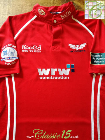 2006/07 Scarlets Home Rugby Shirt (S)