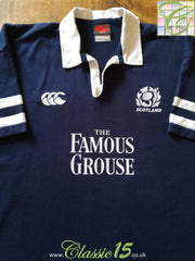 2002/03 Scotland Home Rugby Shirt (XL)