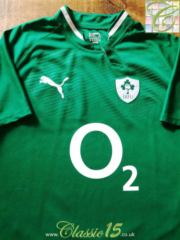 2011/12 Ireland Home Pro-Fit Rugby Shirt (L)