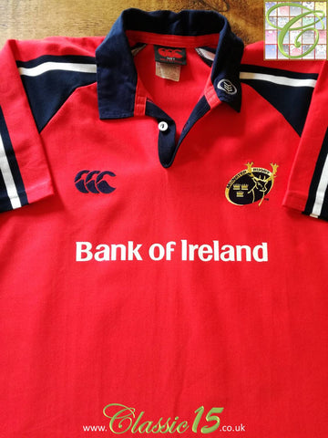 2003/04 Munster Home Rugby Shirt (L)