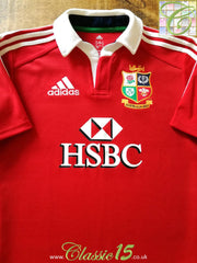 2013 British & Irish Lions Home 'Climalite' Rugby Shirt (L)