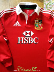 2013 British & Irish Lions Home 'Climlite' Rugby Shirt. (M)