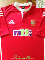 2001 British & Irish Lions Home Rugby Shirt (XL)