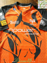 2008/09 Ospreys European Rugby Shirt (XL)