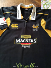 2007/08 London Wasps Home Rugby Shirt (XL)