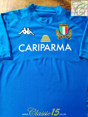 2010/11 Italy Home Rugby Shirt (XL)