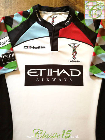 2012/13 Harlequins Away Rugby Shirt (S)