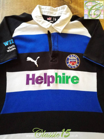 2008/09 Bath Home Rugby Shirt (S)