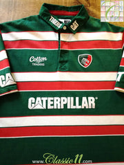 2011/12 Leicester Tigers Home Rugby Shirt (XL)