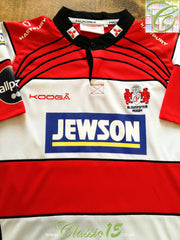 2011/12 Gloucester Home Rugby Shirt (XL)