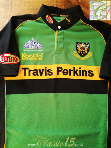 2004/05 Northampton Saints Home Rugby Shirt (XL)