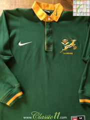 1997/98 South Africa Home Rugby Shirt (M)
