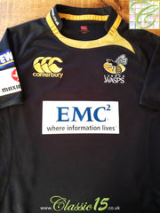 2009/10 London Wasps Home Pro-Fit Rugby Shirt (XXL)