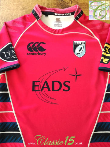 2010/11 Cardiff Blues Away Rugby Shirt (S)