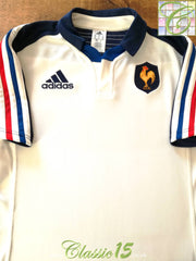 2013/14 France Away Rugby Shirt (XL)