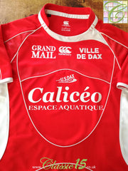 2008/09 US Dax Home Rugby Shirt (L)