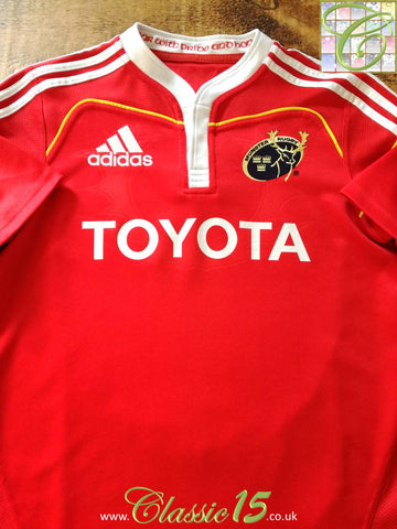 2009/10 Munster Home Rugby Shirt (S)