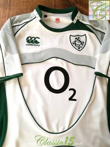 2007/08 Ireland Away Pro-Fit Rugby Shirt (L)