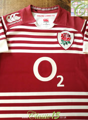 2013/14 England Away Pro-Fit Rugby Shirt (S)