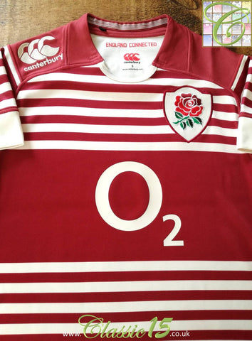 2013/14 England Away Pro-Fit Rugby Shirt (M)