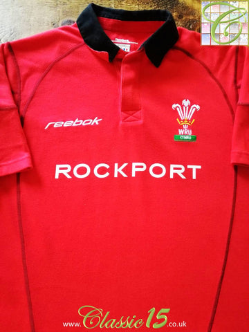 2002/03 Wales Home Rugby Shirt (XXL)