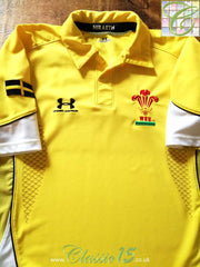 2008/09 Wales Away Rugby Shirt. (S)