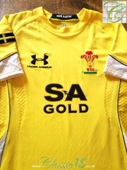 2008/09 Wales Away Pro-Fit Rugby Shirt (S)