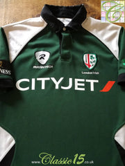 2009/10 London Irish Home Rugby Shirt (M)