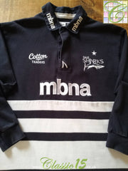 2011/12 Sale Sharks Home Rugby Shirt. (M)