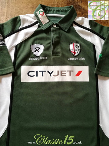 2008/09 London Irish Home Rugby Shirt (L)