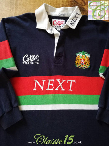1997/98 Leicester Tigers Away Rugby Shirt (L)