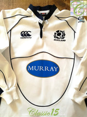 2007/08 Scotland Away Rugby Shirt. (L) *BNWT*