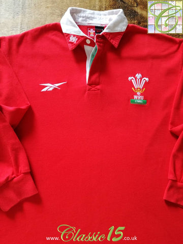 1998/99 Wales Home Rugby Shirt. (XXL)