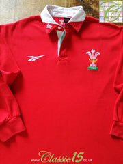 1998/99 Wales Home Rugby Shirt. (L)