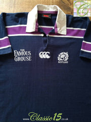 2000/01 Scotland Home Rugby Shirt (S)